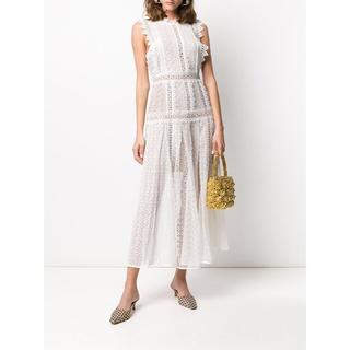 セルフポートレイト(SELF PORTRAIT)のSELF-PORTRAIT シアーレース ドレス ワンピースFRAY I.D(ロングドレス)