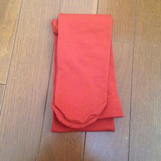 シマムラ(しまむら)のひかり様専用 タイツ オレンジ(タイツ/ストッキング)