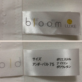 ブルーム(BLOOM)のラグジュアリー ビスチェ ブライダル(ウェディングドレス)