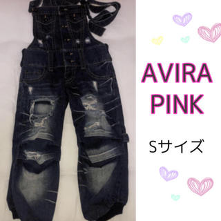アビラピンク(AVIRA PINK)のAVIRAPINK☆サロペット☆値下げ⭕即購入⭕(サロペット/オーバーオール)
