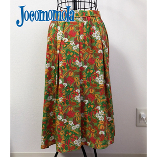 ホコモモラ(Jocomomola)の【紙タグ付き】JOCOMOMOLA ホコモモラ★OLD FLORES スカート (ロングスカート)