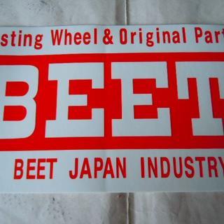 BEET/KAYABA ステッカー 新品未使用(ステッカー)