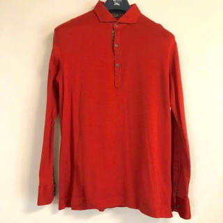 アレグリ(allegri)の【ゴルフにも最適!】ポロシャツ allegri 長袖 サイズ 48(L)(ポロシャツ)