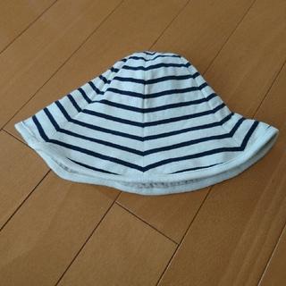 ベルメゾン(ベルメゾン)の帽子 48㎝ ベビー キッズ(帽子)