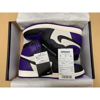 AIR JORDAN 1 Court Purple 26(スニーカー)