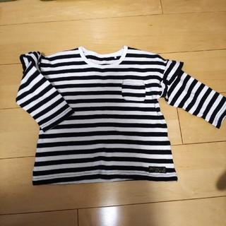 キャサリンコテージ(Catherine Cottage)のCatherine Cottage*七分袖ボーダーTシャツ*130サイズ(Tシャツ/カットソー)
