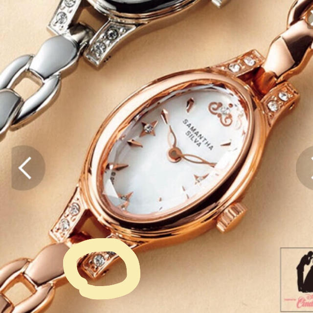 Samantha Silva(サマンサシルヴァ)のサマンサ レディースのファッション小物(腕時計)の商品写真