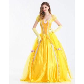 Disney - 美女と野獣 ベル ドレス コスプレ コスチューム