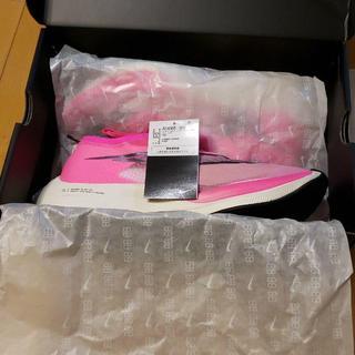 ナイキ(NIKE)のNIKE ZOOMX VAPORFLY NEXT% Pink(スニーカー)
