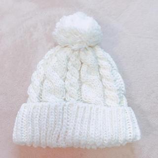 ジーユー(GU)のGU ニット帽 帽子(ニット帽/ビーニー)