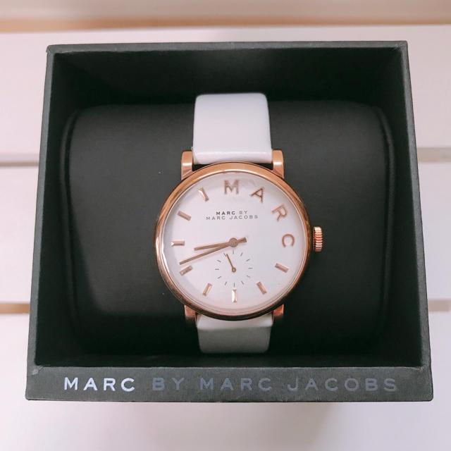 ロレックス 時計 コピー 全国無料 | MARC BY MARC JACOBS - MARC BY MARC JACOBS 腕時計 ホワイトレザーの通販