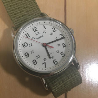 タイメックス(TIMEX)のサマーセール、プロフィール確認ください TIMEX 腕時計 カーキ ユニセックス(腕時計(アナログ))