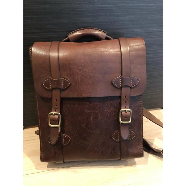 HERZ(ヘルツ)のヘルツ / オルガン ◆ M-2リュックサック 定価63800円 メンズのバッグ(バッグパック/リュック)の商品写真
