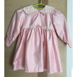 シャーリーテンプル(Shirley Temple)の❁シャーリーテンプル❁長袖 ワンピース ドレス 100 【入園式・結婚式】(ドレス/フォーマル)