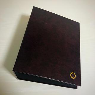 フランクリンプランナー(Franklin Planner)のフランクリン・プランナー バインダーstrage bin 茶 (手帳)