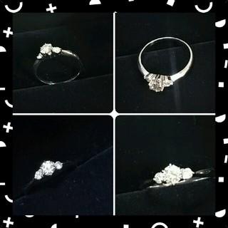 プラチナ ダイヤリング pt 900(リング(指輪))