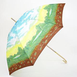 フランシュリッペ(franche lippee)のフランシュリッペ 新品未使用 おでかけパラソル スワンの森 傘(傘)