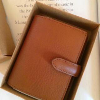 ムジルシリョウヒン(MUJI (無印良品))の【新品】MUJI  ヌメシュリンク革ジャバラ2つ折財布 (財布)