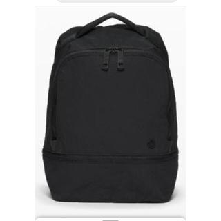 ルルレモン(lululemon)のlululemon Backpackブラックほぼ新品(ヨガ)