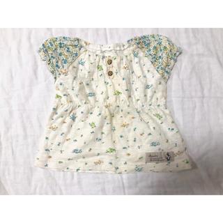 ビケット(Biquette)の花柄 トップス  半袖(Tシャツ/カットソー)