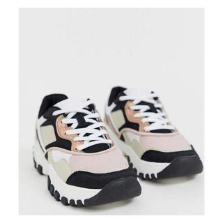 ベルシュカ(Bershka)のchunky sneaker in multi チャンキースニーカー (609(スニーカー)