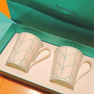 ティファニー(Tiffany & Co.)のTiffany& Co. 新品未使用ペアマグカップ (マグカップ)