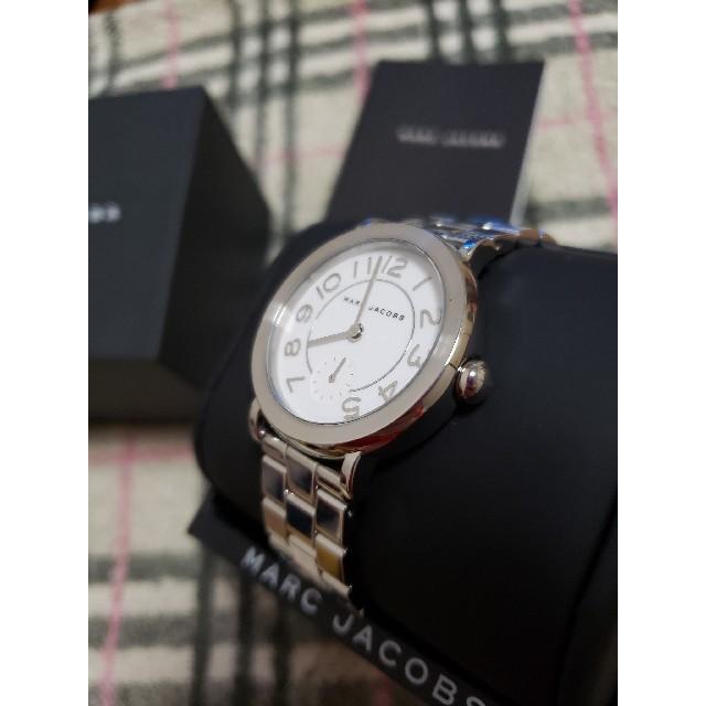 ロレックス スーパー コピー 時計 2017新作 、 MARC BY MARC JACOBS - 【新品電池交換済み】 MARC 腕時計 レディース マークジェイコブス シルバーの通販