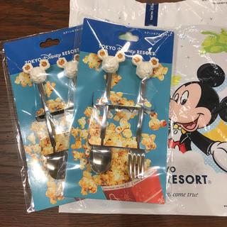 Disney - ディズニー スプーン&フォーク