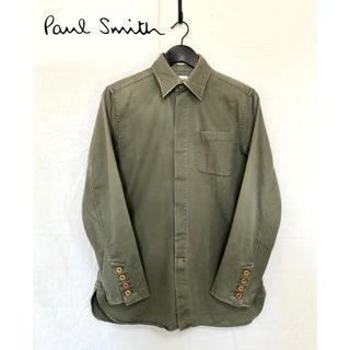ポールスミス(Paul Smith)のPaul Smith/ポールスミス ミリタリー調シャツジャケット(ミリタリージャケット)