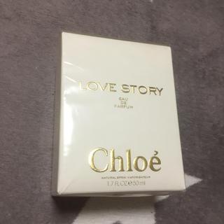 クロエ(Chloe)のお値下げしました!新品!Chloeのlove story50ml(香水(女性用))