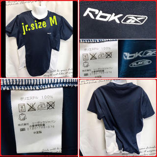 リーボック(Reebok)のリーボック♡サッカーTシャツ Jr.Msize(ウェア)