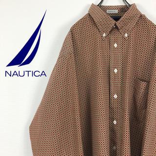 ノーティカ(NAUTICA)のノーティカ NOUTICA クラシックフィット 総柄 BDコットンシャツ(シャツ)