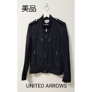 ビューティアンドユースユナイテッドアローズ(BEAUTY&YOUTH UNITED ARROWS)のBEAUTY&YOUTH UNITED ARROWS  黒  ジャケット(ライダースジャケット)