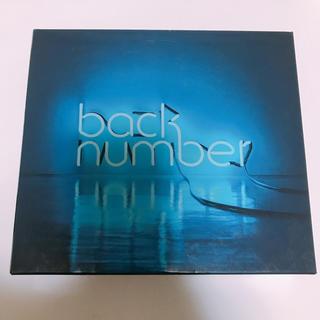 バックナンバー(BACK NUMBER)のbacknumber アンコール 初回限定盤A(ポップス/ロック(邦楽))