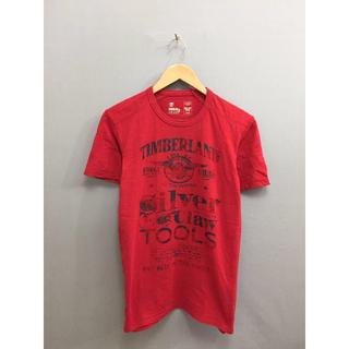 ティンバーランド(Timberland)のティンバーランド Timberland アウトドア 半袖 Tシャツ 丸首 レッド(Tシャツ/カットソー(半袖/袖なし))