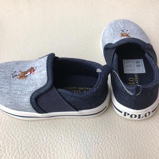 ポロラルフローレン(POLO RALPH LAUREN)の新品 RALPH LAUREN スニーカー POLO ラルフローレン 靴 ポロ(スリッポン)