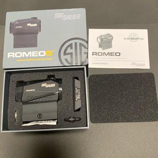 sig sauer romeo5  ドットサイト 実銃用(カスタムパーツ)