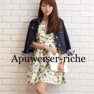 アプワイザーリッシェ(Apuweiser-riche)の【pure様専用】☆Apuweiser-riche☆♡花柄ワンピース(ミニワンピース)