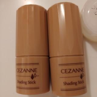 セザンヌケショウヒン(CEZANNE(セザンヌ化粧品))の現行品 セザンヌ シェーディングスティック 01 マットブラウン 5.1g(フェイスカラー)