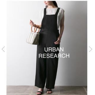 URBAN RESEARCH - used ブラックオーバーオール アーバンリサーチ  定価14040円