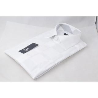 ブラックレーベルクレストブリッジ(BLACK LABEL CRESTBRIDGE)の☆新品未使用☆BLACK LABEL ホワイト Yシャツ☆Lサイズ(シャツ)