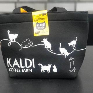 カルディ(KALDI)の未使用 カルディ  ネコの日バック2019 おまけカレンダー(トートバッグ)