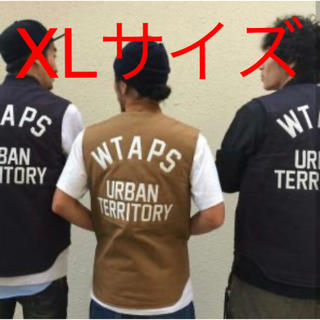 ダブルタップス(W)taps)のwtaps 15aw carhartt vest XLサイズ ネイビー(ダウンベスト)