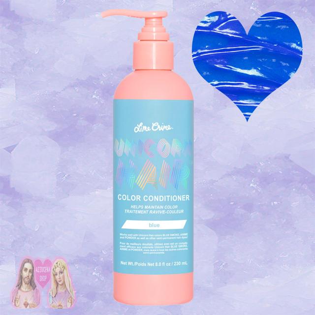Lime Crime(ライムクライム)のLimecrime Hair Color Conditioner blue💎 コスメ/美容のヘアケア/スタイリング(コンディショナー/リンス)の商品写真