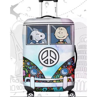 スヌーピー(SNOOPY)の再入荷 スーツケースカバー スヌーピー   L(スーツケース/キャリーバッグ)
