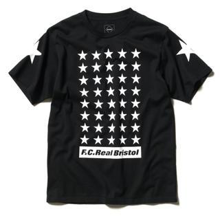 エフシーアールビー(F.C.R.B.)の19AW FCRB 42 STARS TEE s黒 送料込(Tシャツ/カットソー(半袖/袖なし))