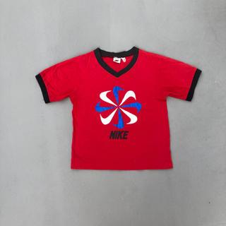 ナイキ(NIKE)のナイキ Tシャツ 風車ナイキ 90s  銀タグ ゴツナイキ70s 80s(Tシャツ(半袖/袖なし))