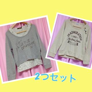 長袖ゆるT(Tシャツ(長袖/七分))