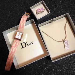 クリスチャンディオール(Christian Dior)のDior トロッターセット(リング(指輪))