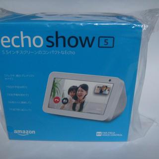 エコー(ECHO)の【新品】アマゾン echoshow5(その他)